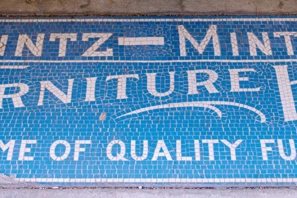 Mintz-Mintz Furniture House mosaic
