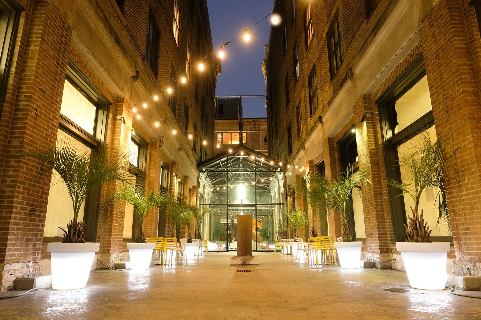 Courtyard at Civic Lofts