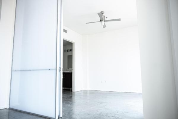 Empty room in unit