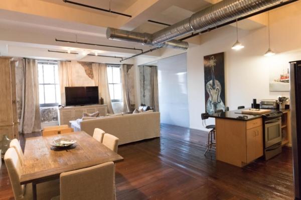 Main room in unit
