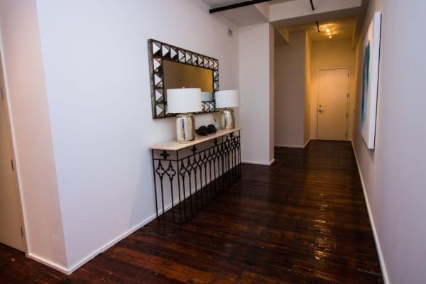 Foyer in unit